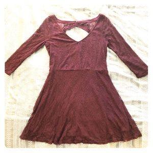 AEO Floral Lace Dress Size L